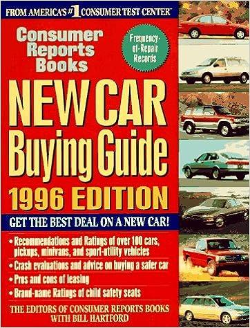 Read New Car Buying Guide 1996 (Annual) PDF, azw (Kindle), ePub