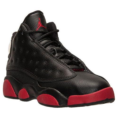 d51c41597b97 Amazon.com  Nike Preshool Air Jordan Retro 13 XIII Dirty Bred Basketball   Shoes