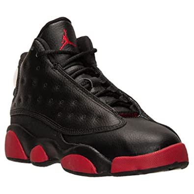 068b231fbee Nike Preshool Air Jordan Retro 13 XIII Dirty Bred Basketball 12c