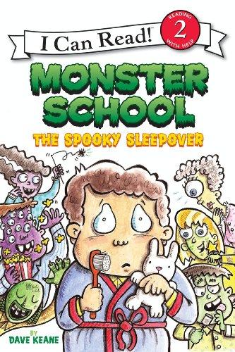 Monster School: The Spooky Sleepover (I Can Read Level (Spooky Halloween Stories For Preschoolers)