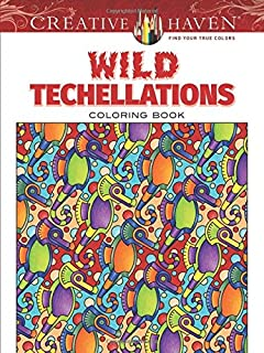 Creative Haven Wild Techellations Coloring Book Adult