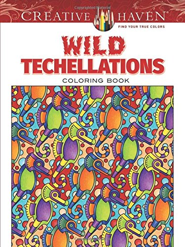 Creative Haven Techellations Coloring Adult product image