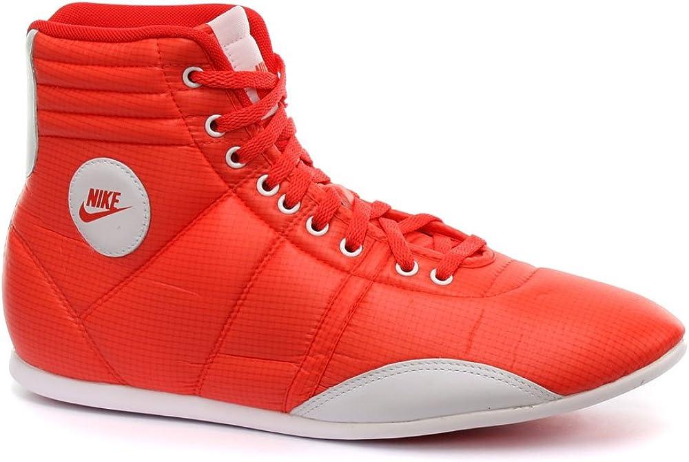 Nike Hijack Mid Orange Womens Trainers
