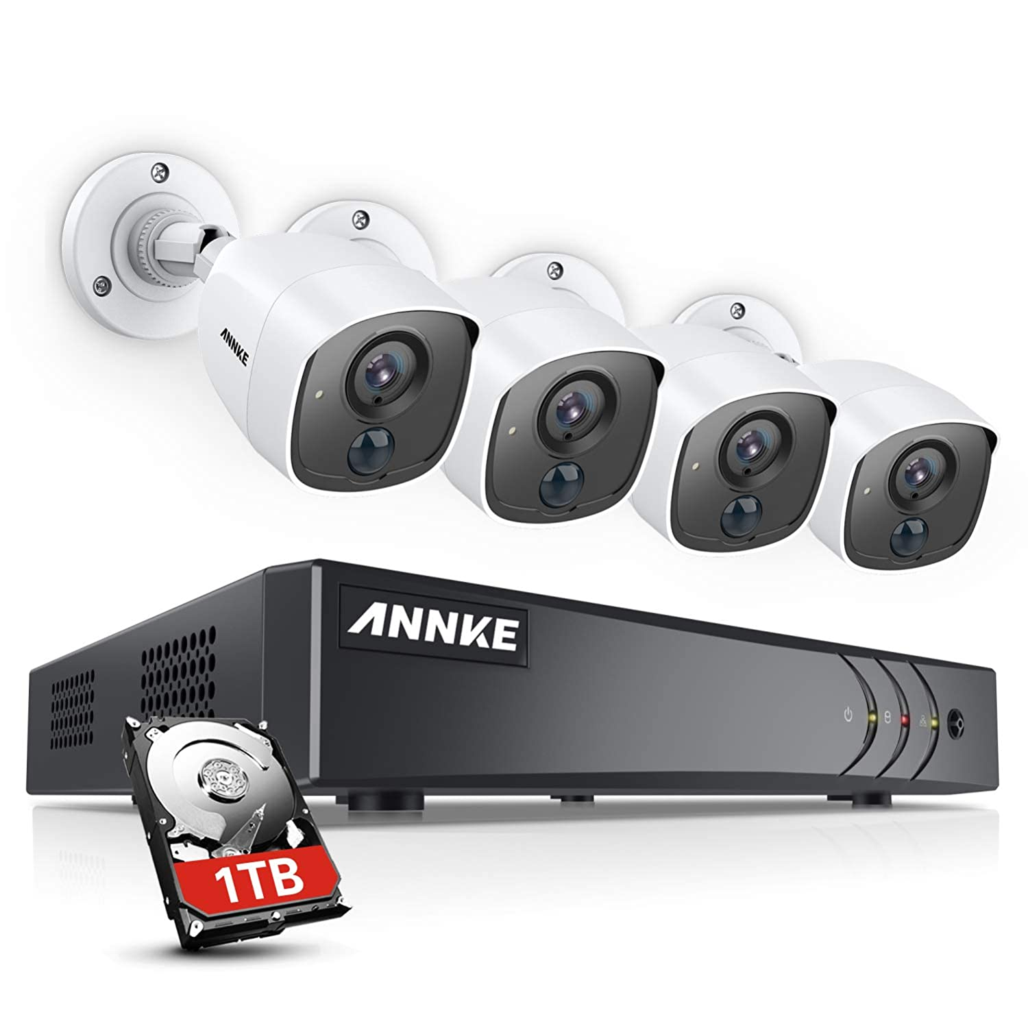 Amazon.com: ANNKE 1080P Ultra Clear 1080P Camera System ...