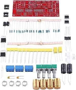DIY Kit HiFi Preamp NE5532 Pre-Amplifier Tone Board Kits AC 12V OP-AMP HiFi Amplifier Electronic Accessories NE5532 HiFi Preamplifier Control Board