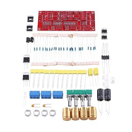 NE5532 HIFI Junta de Preamplificador Kit de Placa de Preamplificador AC 12V OP-AMP HIFI