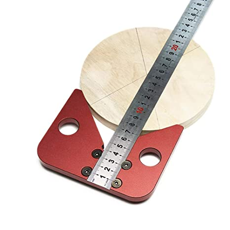 KKmoon High Precision 45//90 Degree Angle Ruler Height Gauge Woodworking Measuring Tool Scriber
