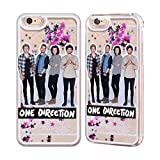 one direction case for iphone 6 - Official One Direction GP16 Group Photos Silver Liquid Glitter Case Cover for Apple iPhone 6 / 6s