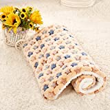 Starry Pet Soft Cushion (Small, Brown)