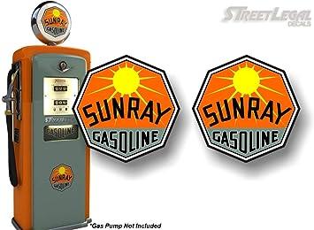 "You Choose Size 2/""-28/"" Gulf Oil Gasoline Color Die Cut Vinyl Decal Sticker"