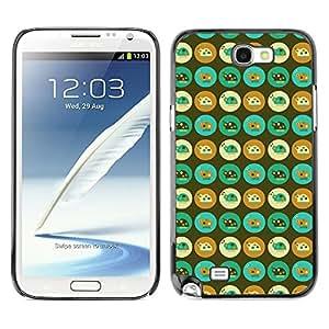 ZECASE Funda Carcasa Tapa Case Cover Para Samsung Galaxy S4 Mini I9190 No.0003219