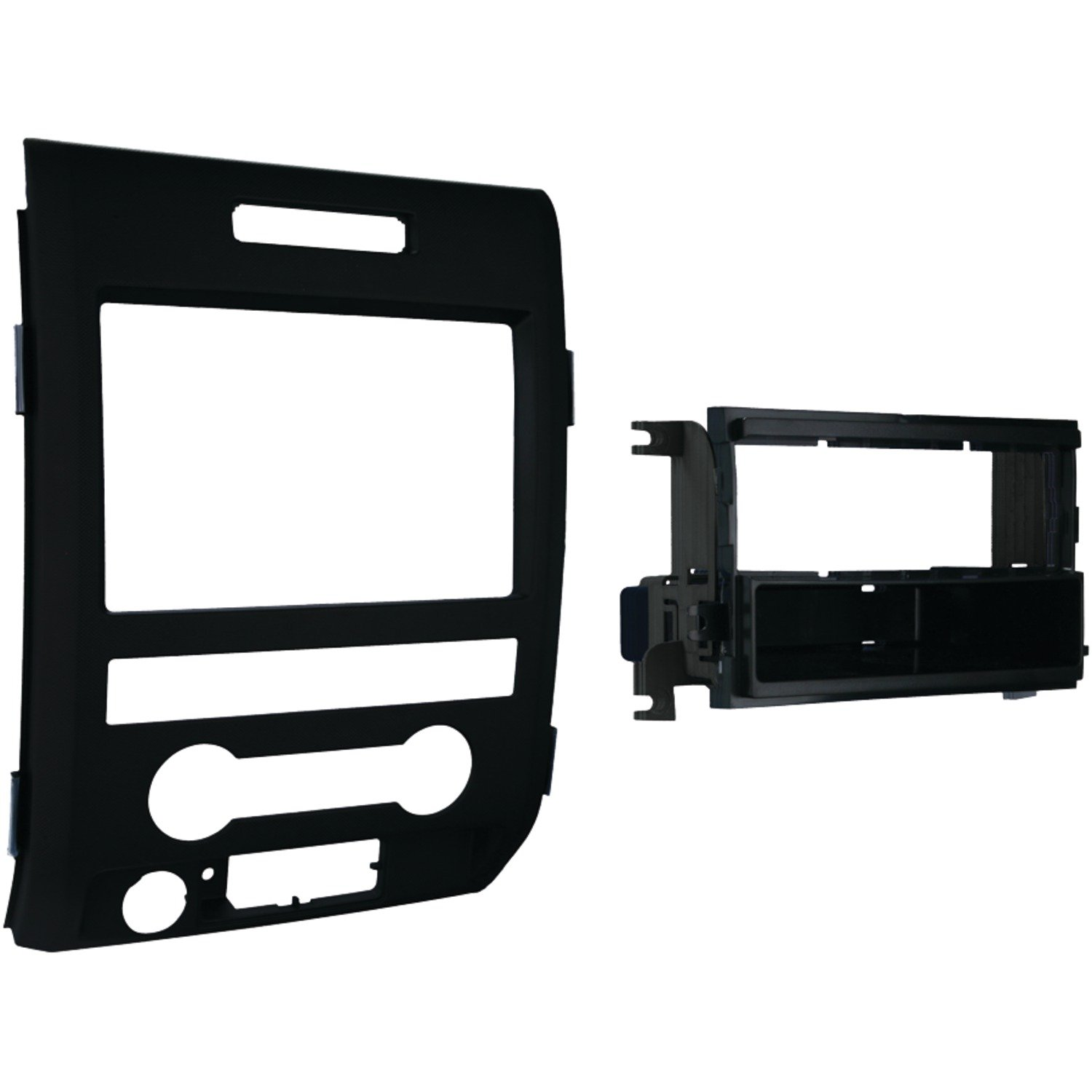 61EJfEsElrL._SL1500_ amazon com metra 99 5820b single din installation dash kit for Dash Kit for F150 at sewacar.co