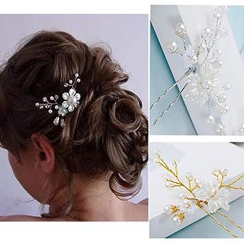 Broches para peinados de novia