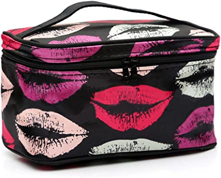 Jhtceu - Estuche para cosméticos de viaje, organizador de maquillaje: Amazon.es: Belleza