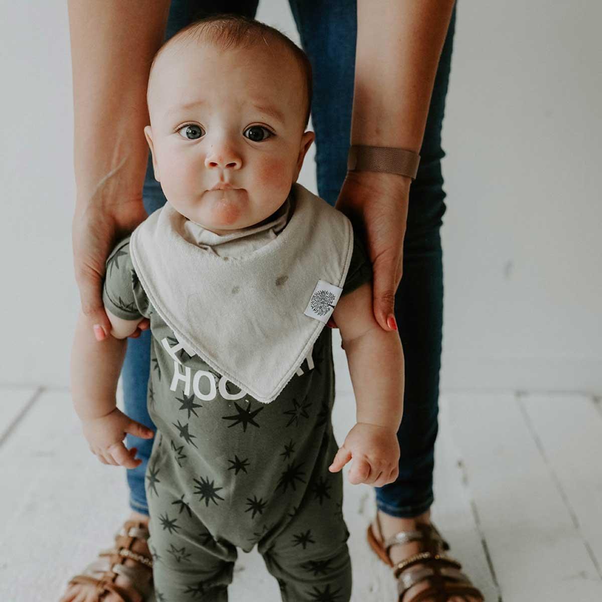 Unisex -Lunar Set Parker Baby Bandana Drool Bibs 8 Pack Baby Bibs for Boys Girls