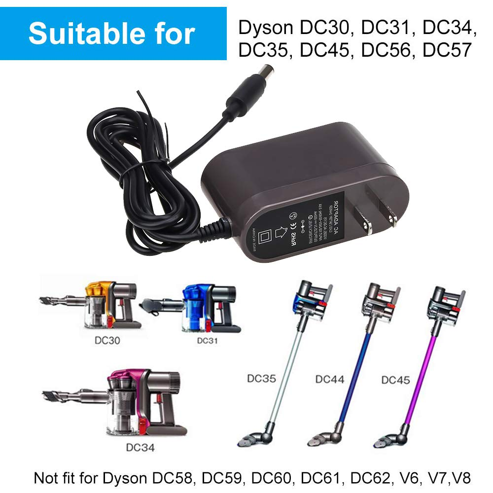 Amazon.com: DC35 Cargador de batería para Dyson DC31 DC34 ...