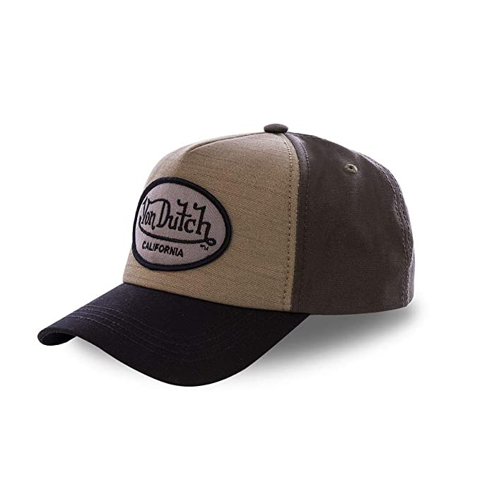 Vondutch Von Dutch Gorra de béisbol, Color marrón Oscuro: Amazon ...