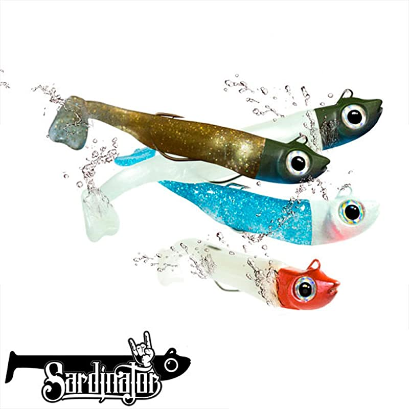 Sardinator XL190 COMBO Vinilo Pesca Spinning: Amazon.es: Handmade