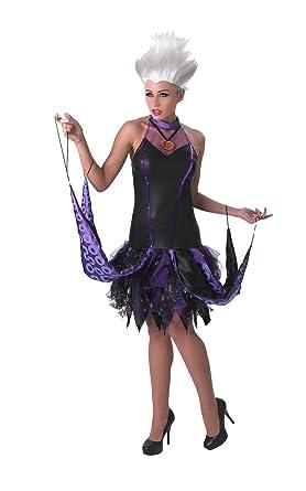 Disney La Sirenita ~ Sassy Ursula - adulto con licencia de vestuario Señora: M (