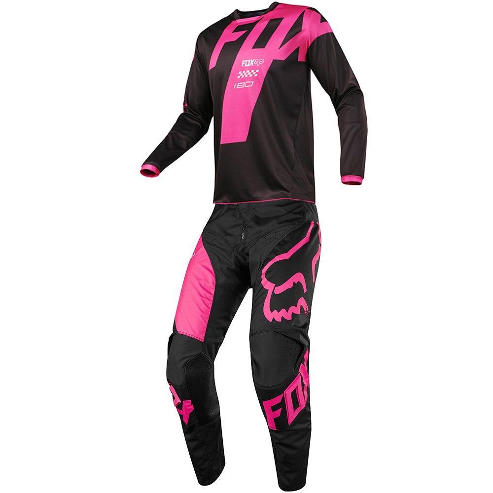 Fox Racing 180 Mastar Black Jersey/ Pant Combo - Size X-LARGE/ 34W