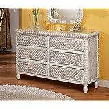 Amazon.com: Wicker - Bedroom Furniture / Furniture: Home & Kitchen