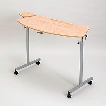 Days Table De Lit Avec Tablette Forme Legerement Incurvee Plan De