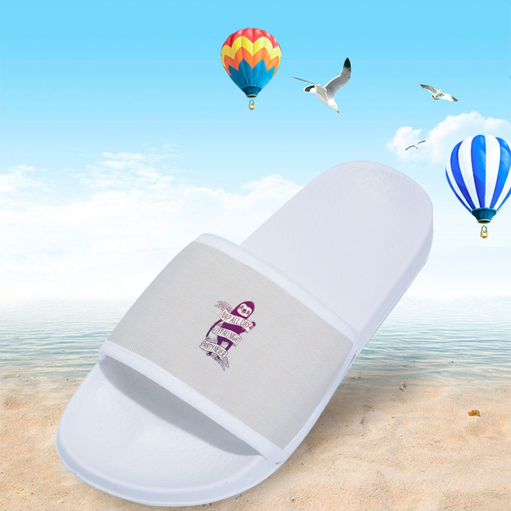 Ron Kite Slide Sandals for Boys Girls Fashion Outdoor Pool Swimming Indoor Home Bath Shower Slippers
