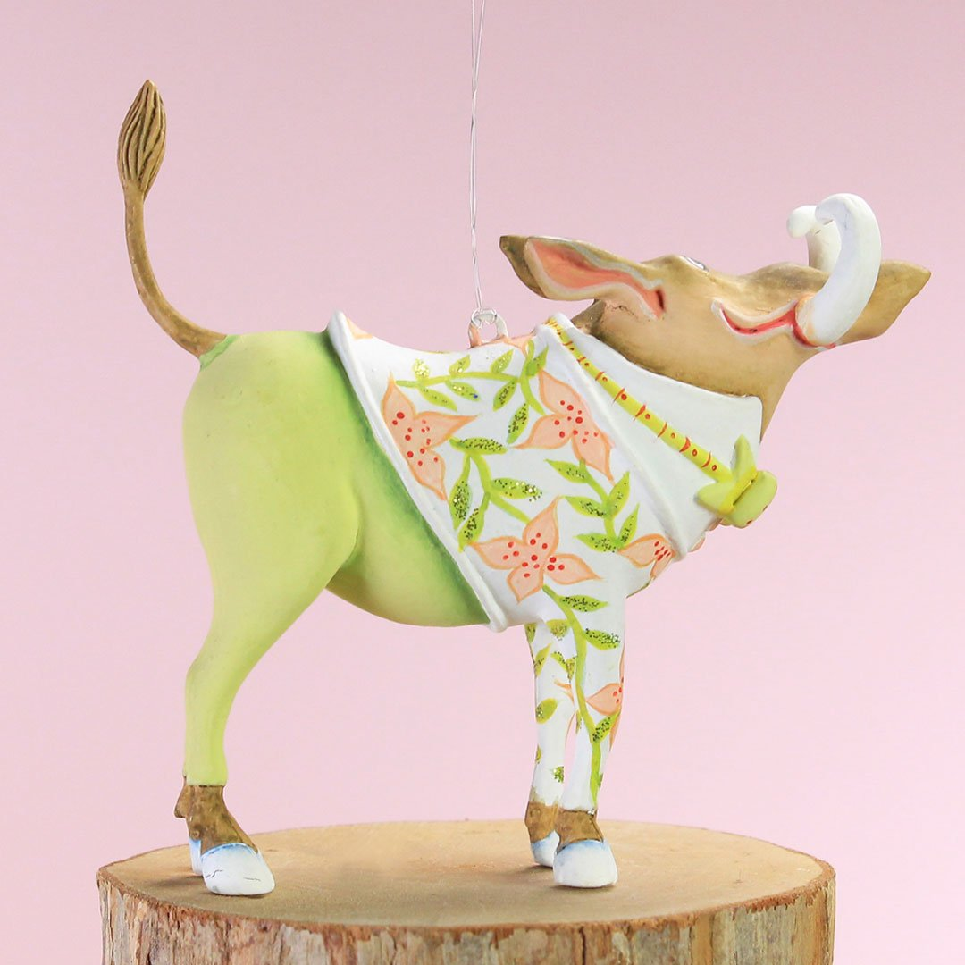 Patience Brewster Home Decor Mini Walter Warthog Ornament 31000