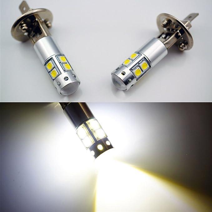 Sharplace 2 Piezas H1 llevó Luz Instalación Fácil Accesorios Bajo Consumo de Energía: Amazon.es: Coche y moto