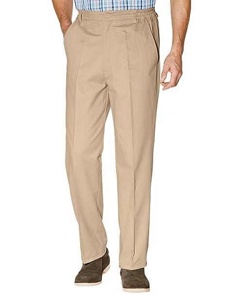 8cd89b5c Mens Cotton Teflon Coated Trouser Pants at Amazon Men's Clothing store