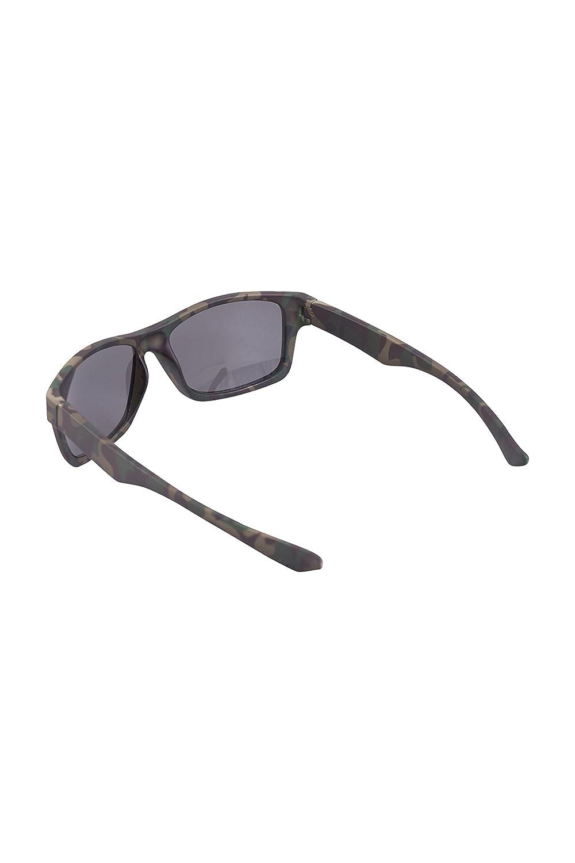 Mountain Warehouse Sandilands Sonnenbrille - Leicht, strapazierfähiger Kunststoff, UV400-Gläser, leicht zu verstauen - Für Frühlingsreisen, Camping, Wandern Camouflage