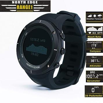 Reloj Inteligente Para Deportes Extremos Al Aire Libre, Profundidad Impermeable De 50 M, Altura