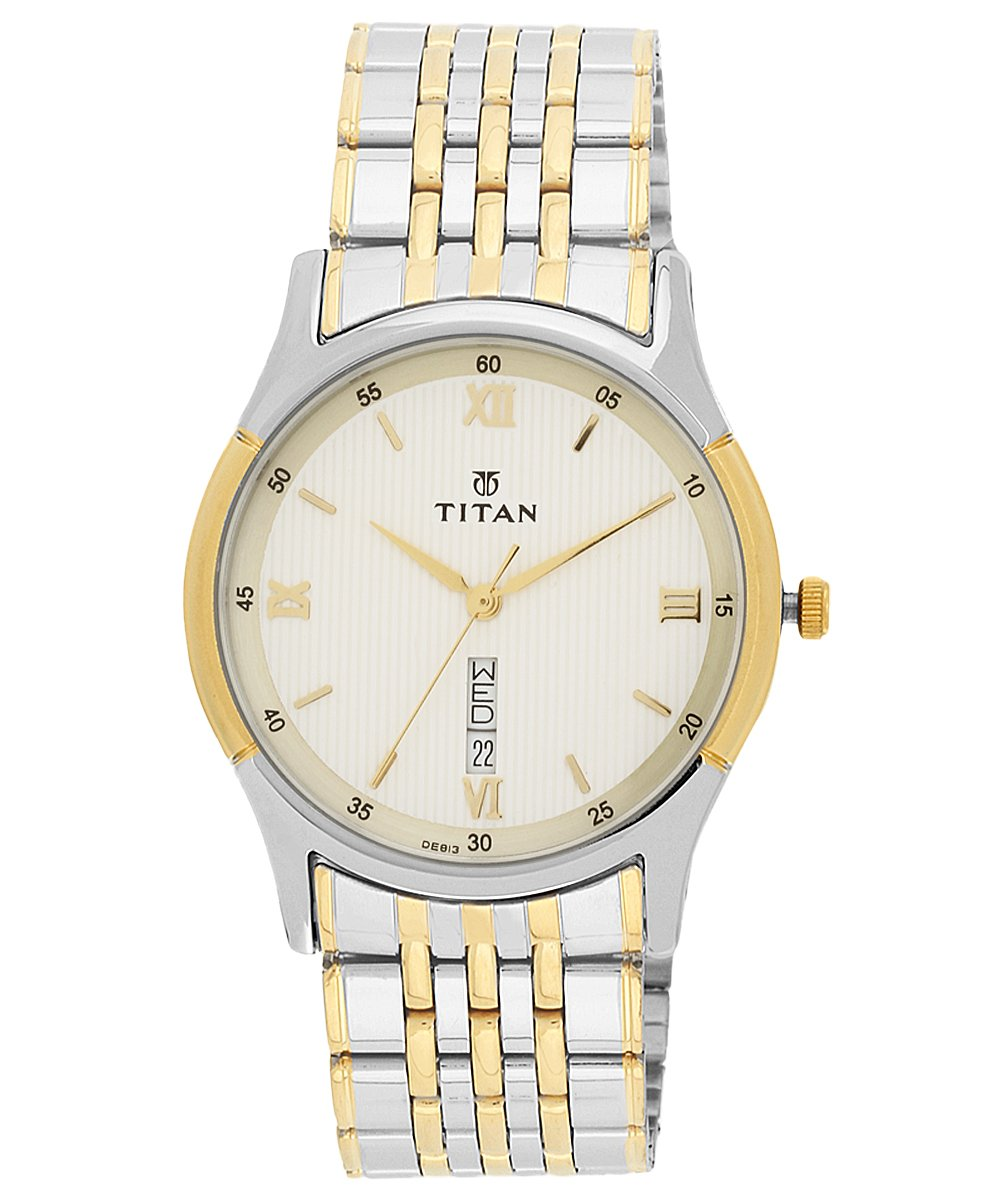 Titan analog Multi-Colour Dial Men's Watch NM1636BM01/NN1636BM01