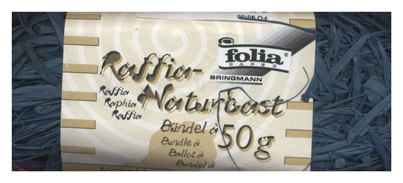 Folia - Raffia naturale, 50 g, naturale 9010 655899