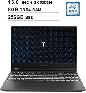 Lenovo 2020 Legion Y540 15.6 Inch FHD IPS Gaming Laptop (9th Gen Intel 6-Core i7-9750H up to 4.5 GHz, 8GB RAM, 256GB PCIe SSD, Nvidia GeForce GTX 1660 Ti, Bluetooth, WiFi, HDMI, Windows 10)