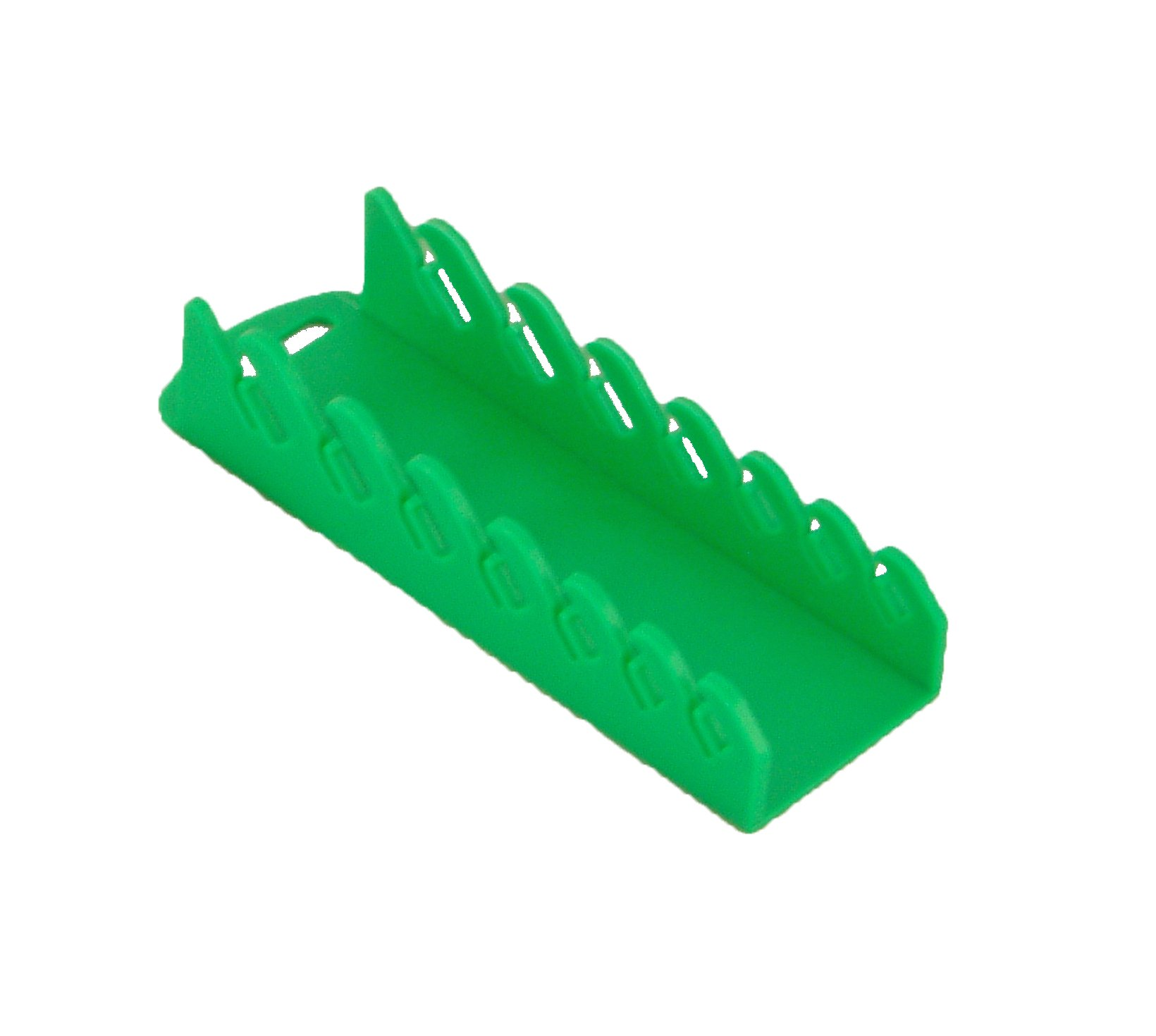 Protoco 5041 Stubby Wrench Rack, Green Magnetic, 7-Piece