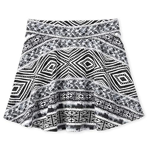 The Children's Place Girls' Printed Pleated Skorts
