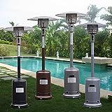 Garden Propane Standing LP Gas Steel Accessories Heater - Black