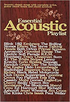 Essential Acoustic Playlist (Guitar Chord Songbook)