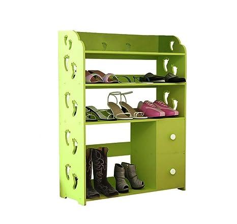 AIDELAI SR porta scarpe Armadi per scarpiere Creative Sculture per stivali Scaffali per organizzatore Multifunzione antipolvere Multi Tiers Con cassetto Combinazione di…