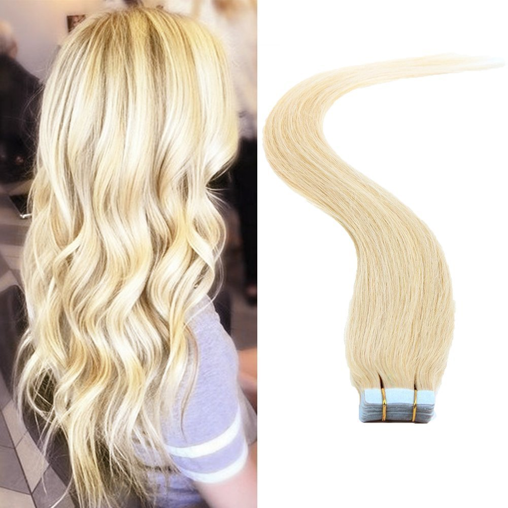 Amazon Fabwigs Tape In Human Hair Extensions 16 18 20 22 24