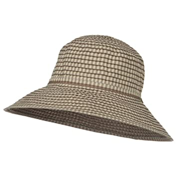 Image Unavailable. Image not available for. Color  Jeanne Simmons Checkered Sun  Hat ... 1fb64be82c5
