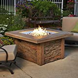 Outdoor Great Room Sierra Crystal Fire Pit Table