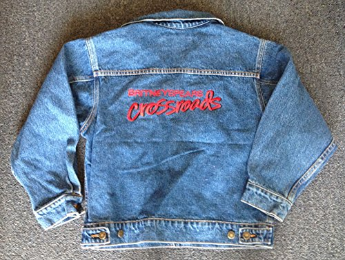 Young Britney Spears Costume (Britney Spears Crossroads MOVIE SWAG PROMO Denim Jacket MTV / PARAMOUNT)