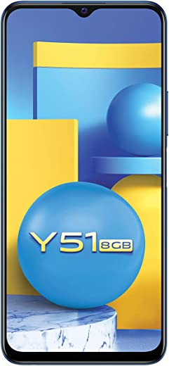 Vivo Y51 (Titanium Sapphire, 8GB RAM, 128GB ROM) with No Cost EMI/Additional Exchange Offers