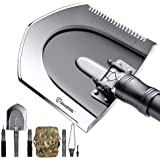 sharvol Tactical Survival Folding Shovel - with Instant Switch Mechanism