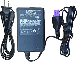 Original Printer Ac Adapter 22V Power Supply for HP Deskjet 1010 1012 1510 1518 0957-2385,0957-2403,HP Deskjet 1512 2515 2548 2540 2542 2544 OJ 2620, Officejet 2620 Ink All-in-One