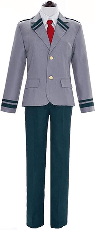 XCJLW Boku no Hero Academia My Hero Academia Izuku Blazer Costume School Uniform Full Suit