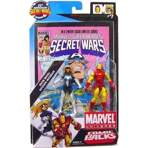 Iron man /& S-W Marvel 25th Anniversary Comic 2pk