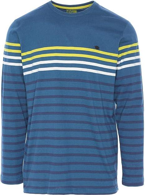 Ternua ® Reisla Camiseta, Hombre, Azul/Rayas, XL: Amazon.es: Deportes y aire libre